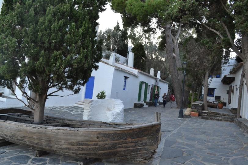 Foto Márcia Costa - frente da casa de Dali
