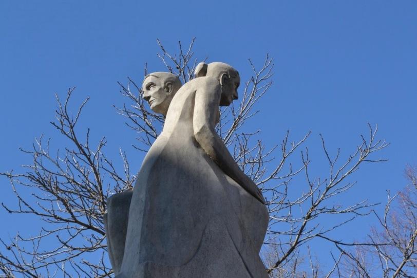 Escultura em Girona